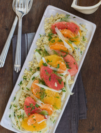 Citrus Fennel Millet Salad