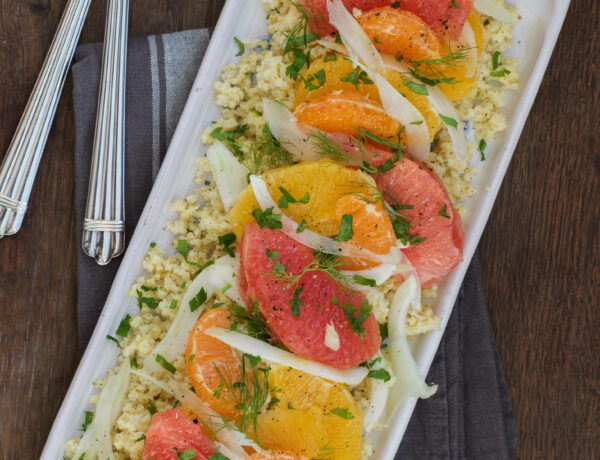Salade Agrumes Fenouil cru et Millet