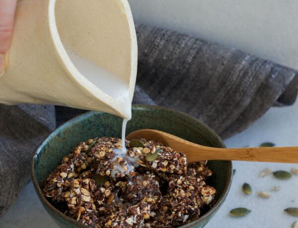 Crunchy Cacao Coconut Granola